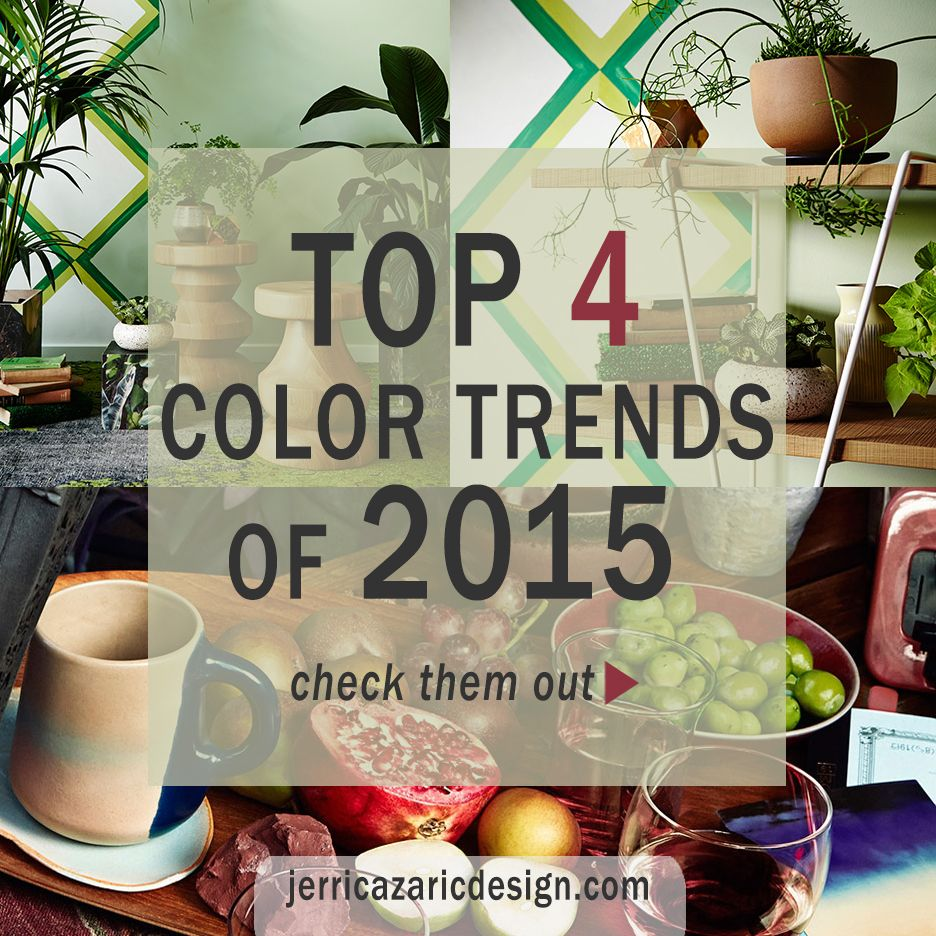 Top 4 Color Trends of 2015 | Paint companies, Wall colors and ...