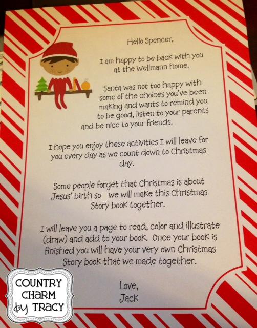 Elf On The Self Helloletter  Christmas Ideas    Elves