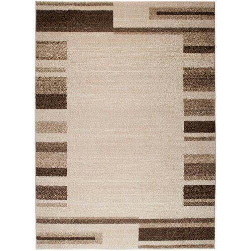 Photo of Teppich Barite in Beige 17 Stories Teppichgröße: Rechteckig 140 x 190 cm, Florhöhe: 10 mm