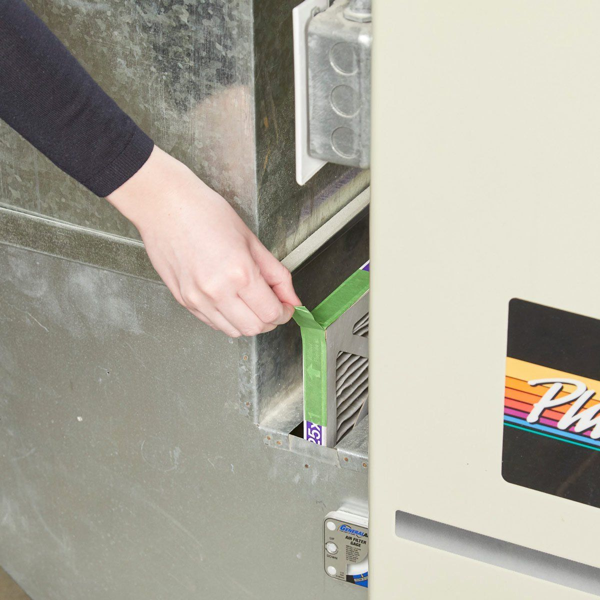 The Easiest Way to Replace a Furnace Filter Furnace