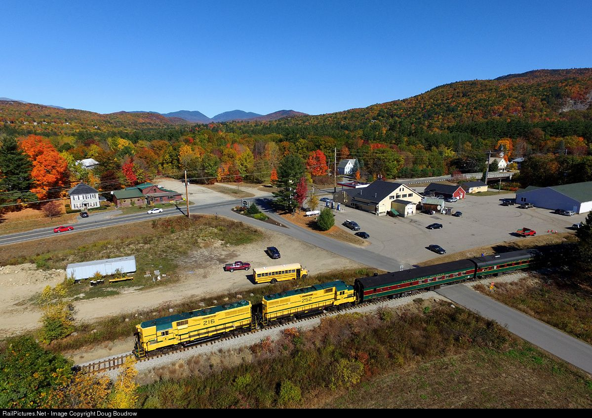 Foto Railpictures Csrx 216 Conway Scenic Railroad Emd