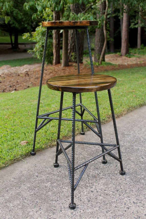 Reclaimed Wood Bar Stools Metal Bar Stools Industrial Bar Etsy Rustic Bar Stools Wood Bar Stools Reclaimed Wood Bars