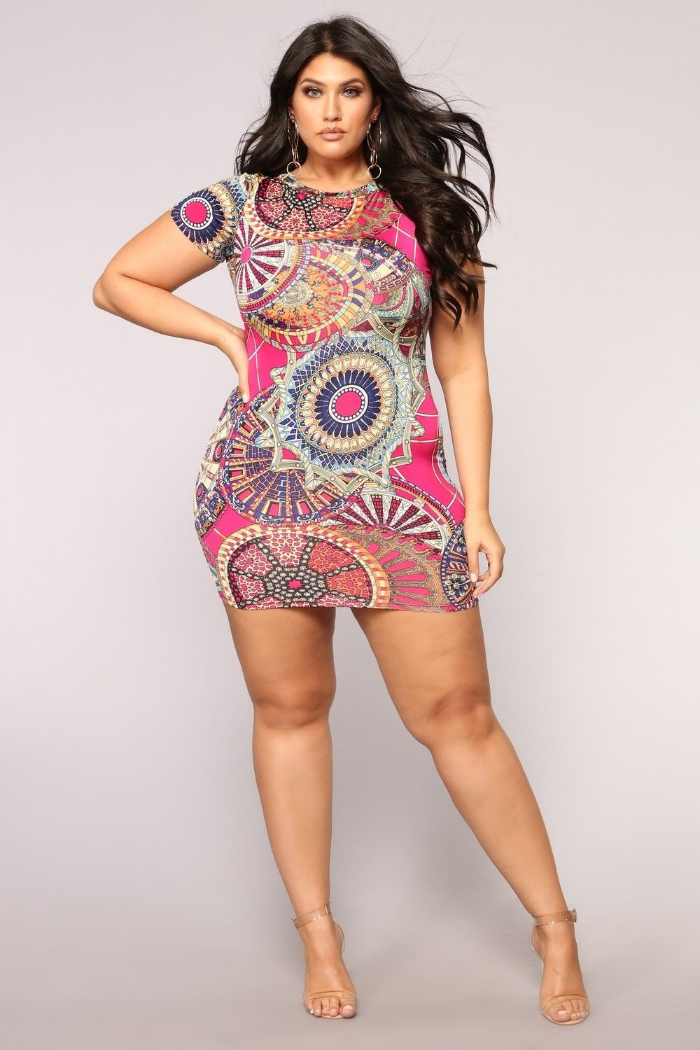 8029a4df5 Plus Size Marcelia Dress - Magenta  27.99  fashion  ootd  outfit  oufits