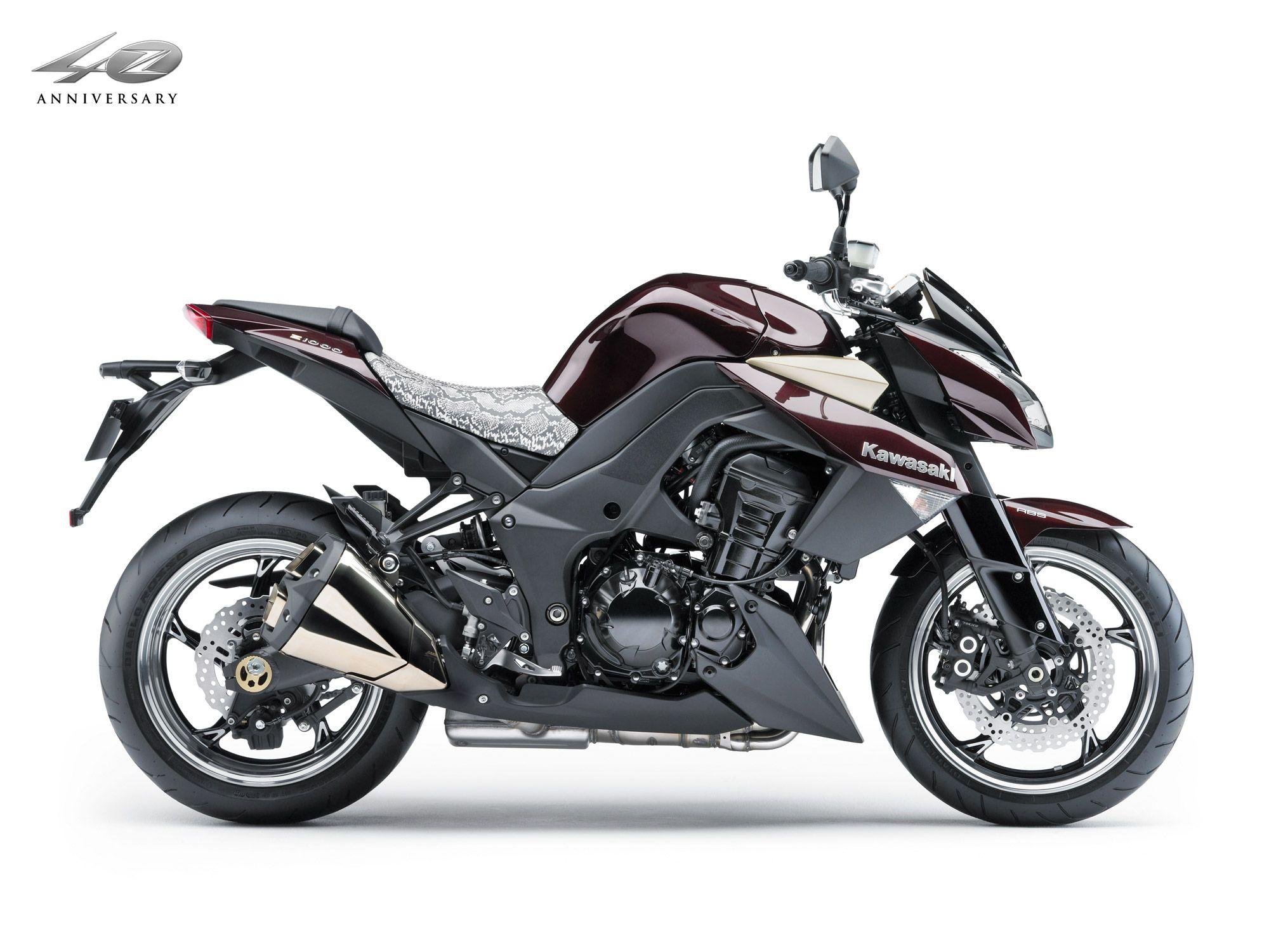 KAWASAKI Z1000 2010 Motos, Motocicletas y Fichas