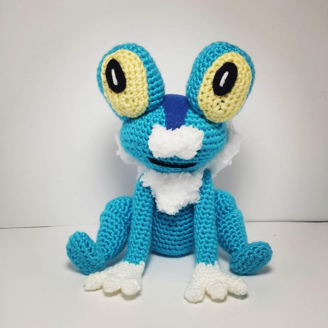 Froakie! Pattern by Kat\'s Creations #crochet #amigurumi #pokemon ...