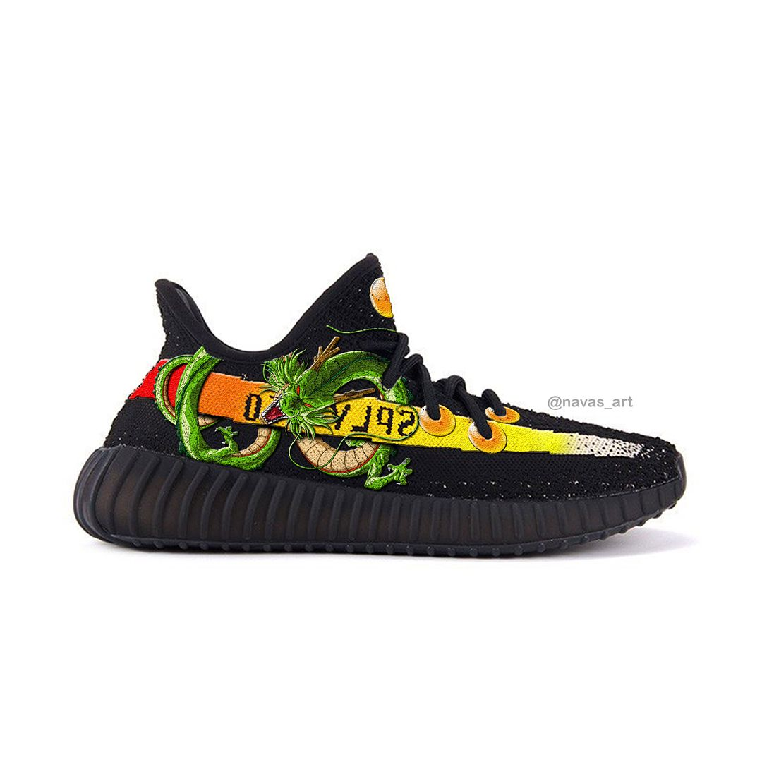 af0b376a479 Adidas X Dragon ball Yeezys V2 (not real