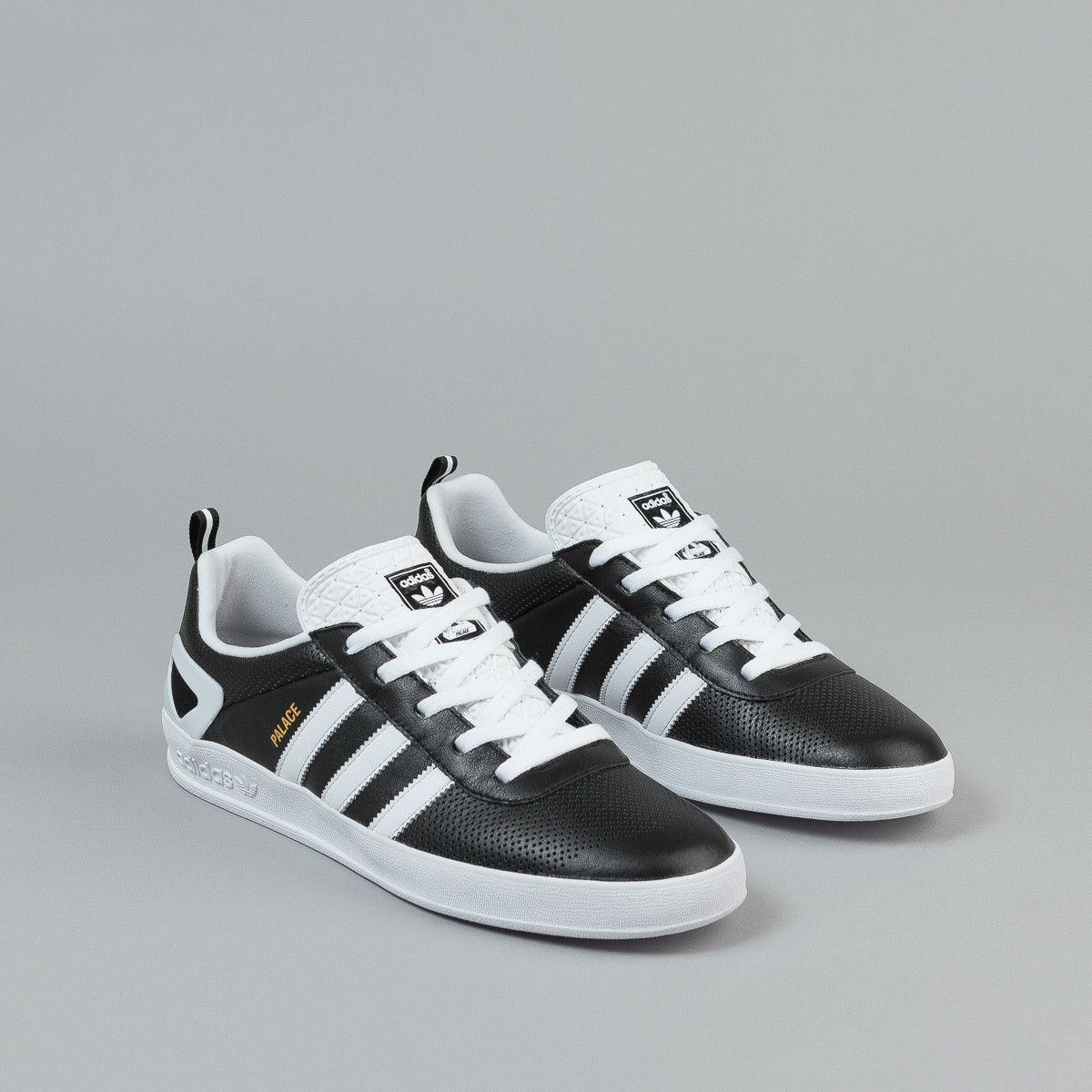 d79e263e6c9 Adidas X Palace Pro Shoes - Black   White   Gold