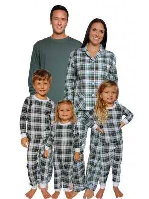 matching family tartan plaid christmas pajamas - Plaid Christmas Pajamas