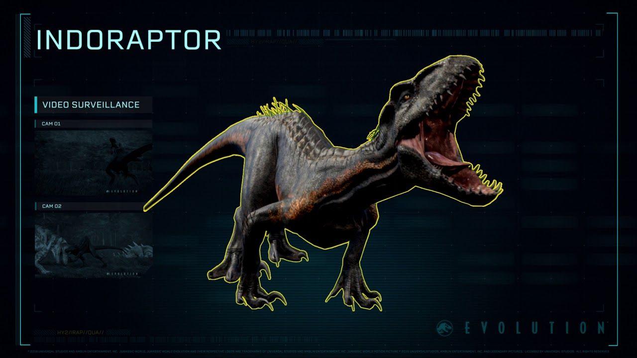 Hybrid Profile - Indoraptor - YouTube | Dino world in 2019