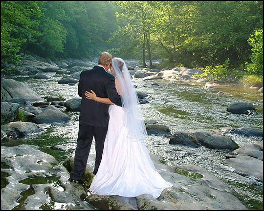 Gatlinburg Watefall Wedding Waterfall Wedding Gatlinburg Weddings Wedding Renewal Vows