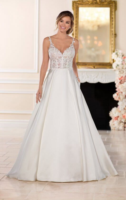 fe7be60e611 6508 Sexy Princess Wedding Dress by Stella York