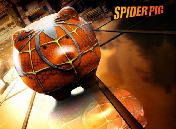 Spider-Pig - Win Bild | Webfail - Fail Bilder und Fail Videos