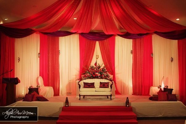 Centurion center photo alph aur meem photograhpy wedding grand royal wedding reception with canopy attached to ceiling junglespirit Choice Image