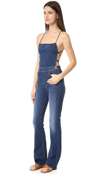 cheap price enjoy lowest price discount coupon Tie Back Jumpsuit | ROMPERS & JUMPSUITS | Jumpsuit, Mother ...