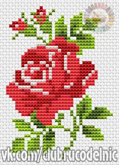 Cvety 2 202 Fotografii Punto De Cruz Pinterest Cross Stitch