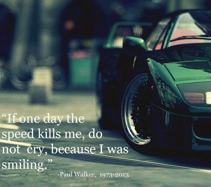 Paul Walker Quote Life Pinterest Frases And Pensamientos