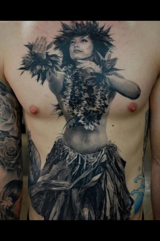 hula girl tattoos tattoo stuff i love pinterest hula girl. Black Bedroom Furniture Sets. Home Design Ideas
