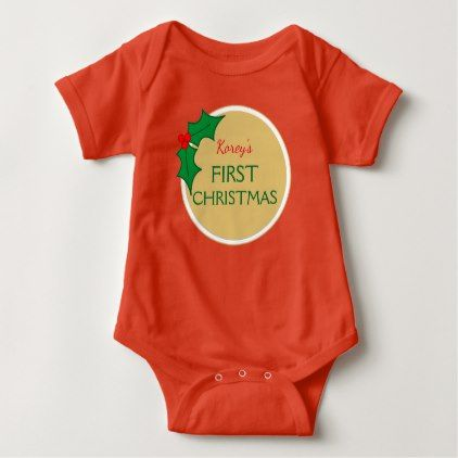 Personalized baby first christmas suit baby bodysuit baby gifts personalized baby first christmas suit baby bodysuit baby gifts child new born gift idea diy negle Image collections
