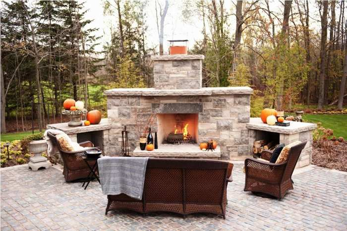 best outdoor fireplace kits outdoor fireplace in 2018 outdoor rh pinterest com Easiest Outdoor Fireplace Kits Flip Flop or Outdoor Fireplace