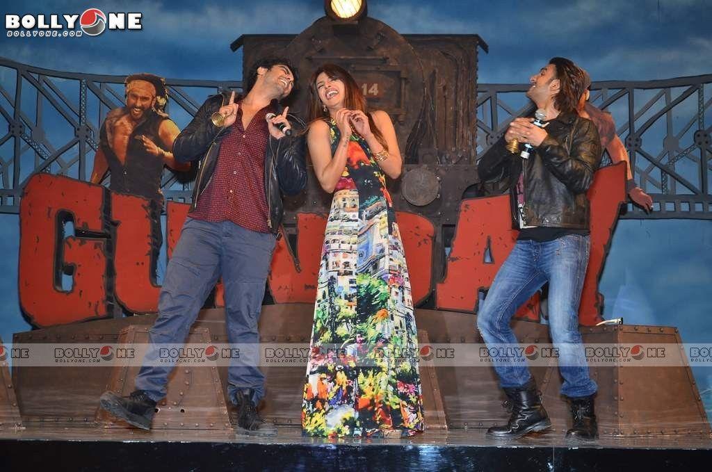 Priyanka Chopra Ranveer Singh And Arjun Kapoor At Gunday Music