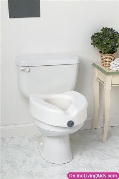 Medline Mds80316h Elevated Locking Toilet Seat Toilet Seat Toilet Bowls Toilet