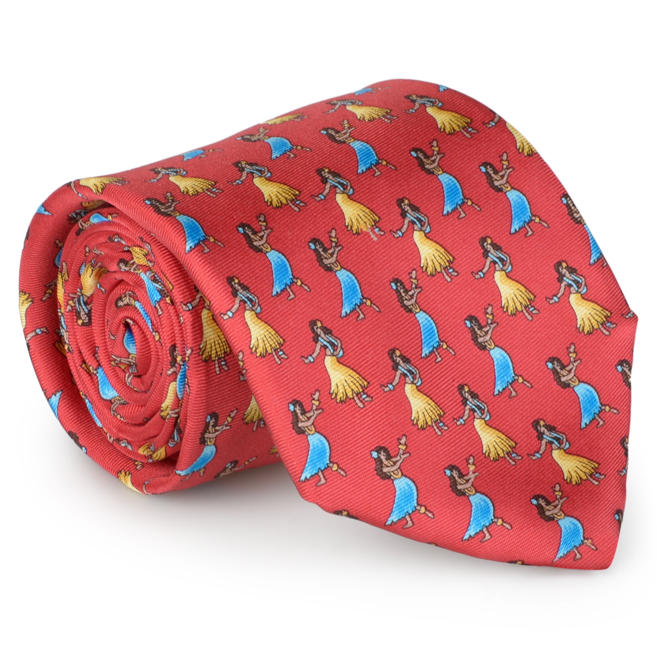 Tommy Bahama Men's Handmade Luau Dancer Tie