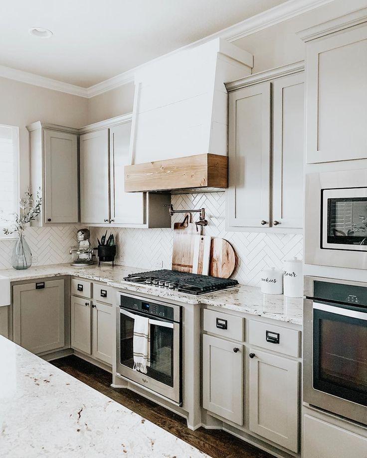 Modernized Bungalow Kitchen Renovation: Our Faux Farmhouse DIY Range Hood Kitchen Rustic In 2019