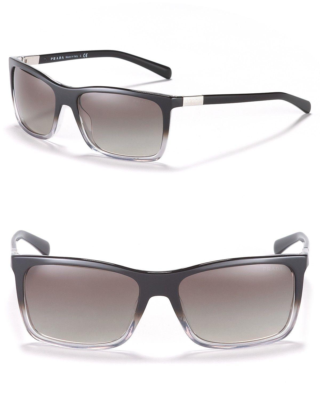 e9453b32882 Prada Men s Timeless Heritage Rectangle Sunglasses