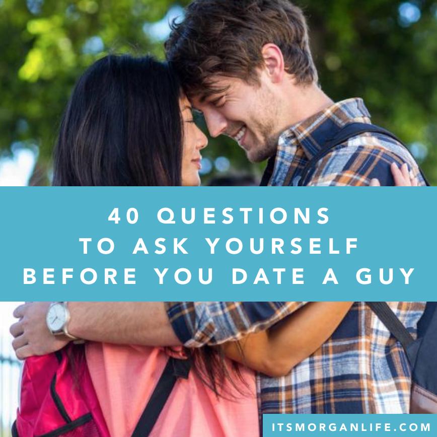 how long should you know a guy before dating him