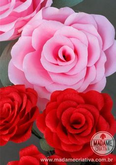 Learn How To Make Giant Crepe Paper Flowers By Madame Criativa