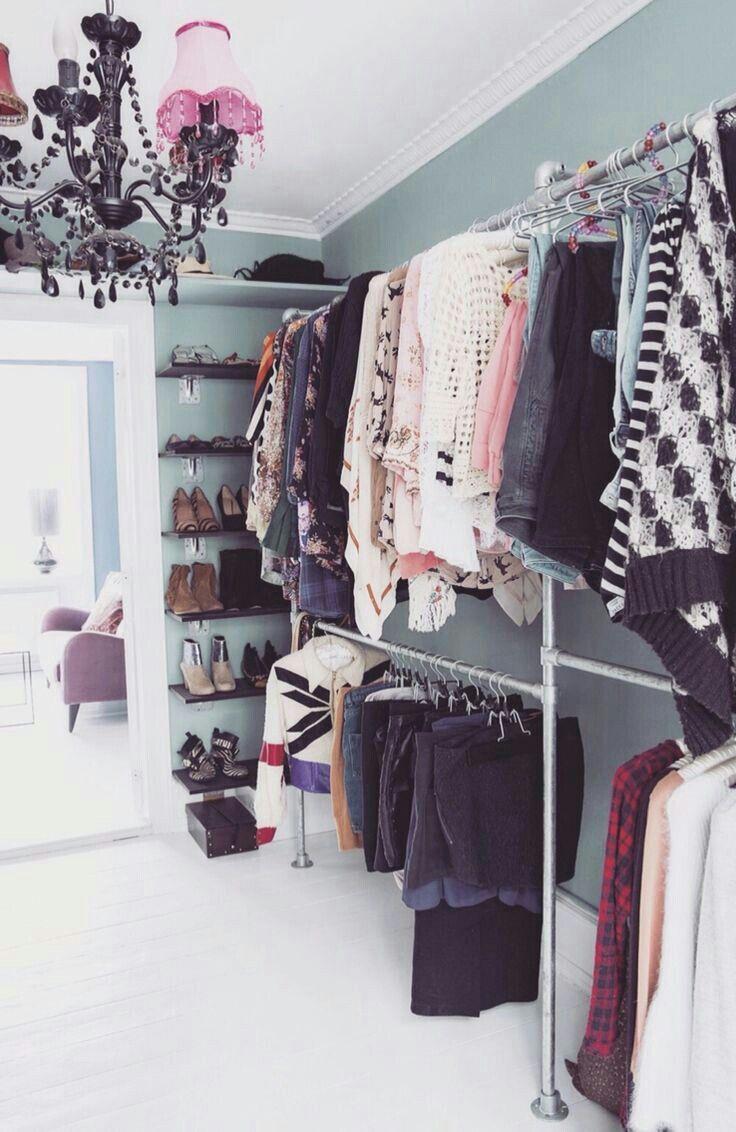 Begehbarer kleiderschrank frau schuhe  Pin von Gio Schmitzhaus auf closet | Pinterest