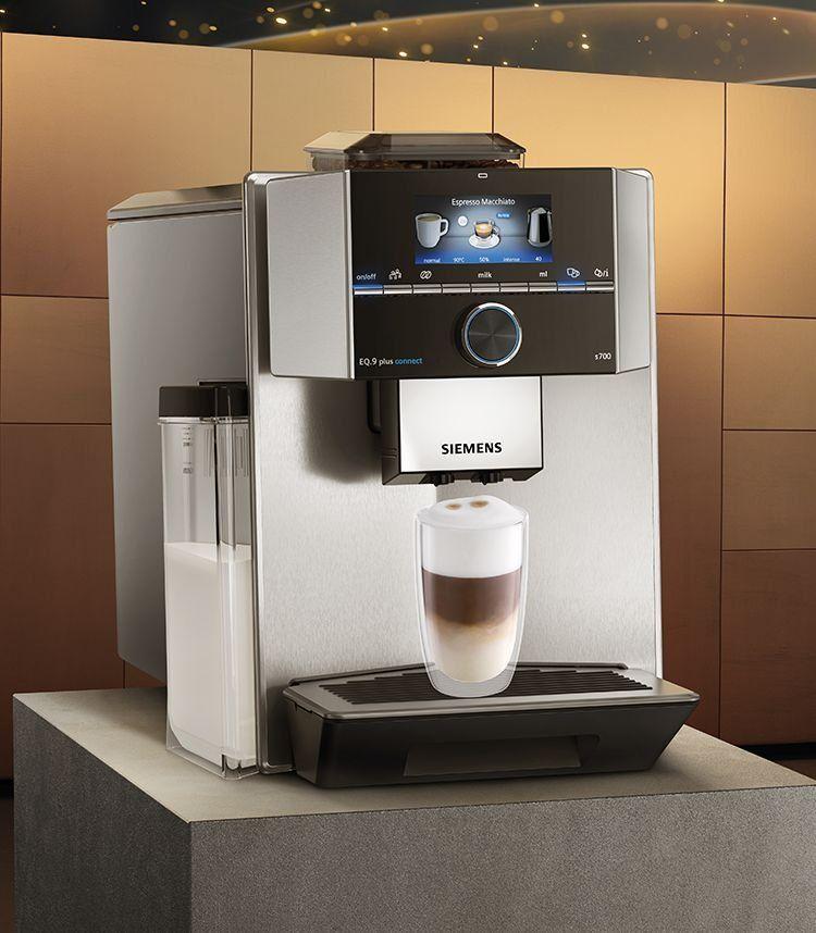 The New Eq Siemens Super Automatic Coffee Machines Automatic Coffee Machine Coffee Machine Design Best Home Espresso Machine
