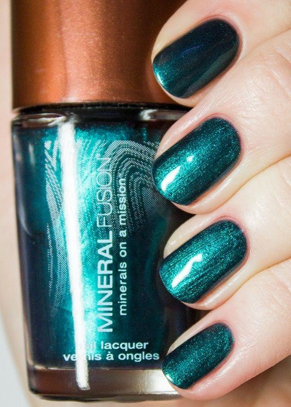 Mineral Fusion Nail Polish, Blue Nile   Nail Polish   Pinterest