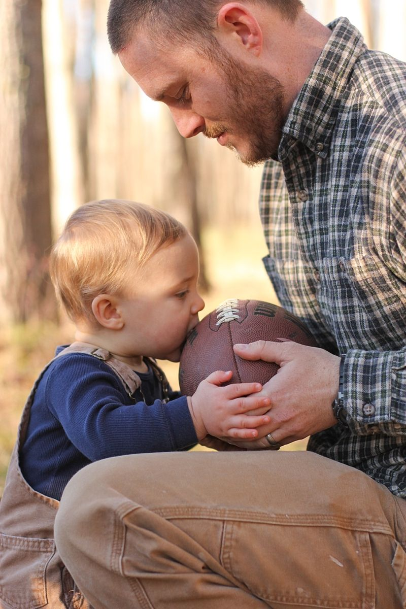 Father and son portrait - Jessica Cochran Photography