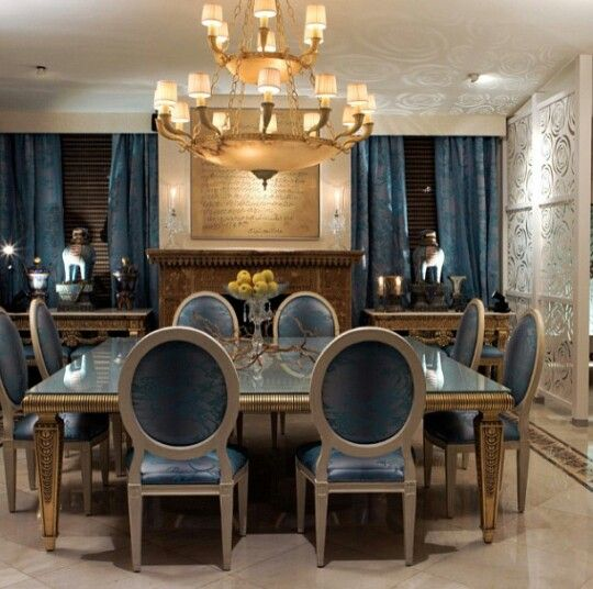 Art Deco Dining Rooms: 20 Awe-Inspiring Art Deco Dining Room Designs