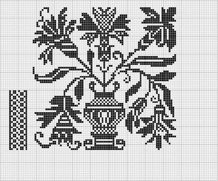 Irregular design | Embroidery | Pinterest | Cross stitch, Stitch and ...