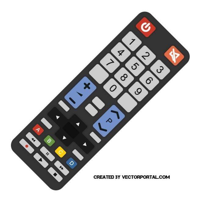 Remote Control Vector Image Remote Control Remote Vector Free