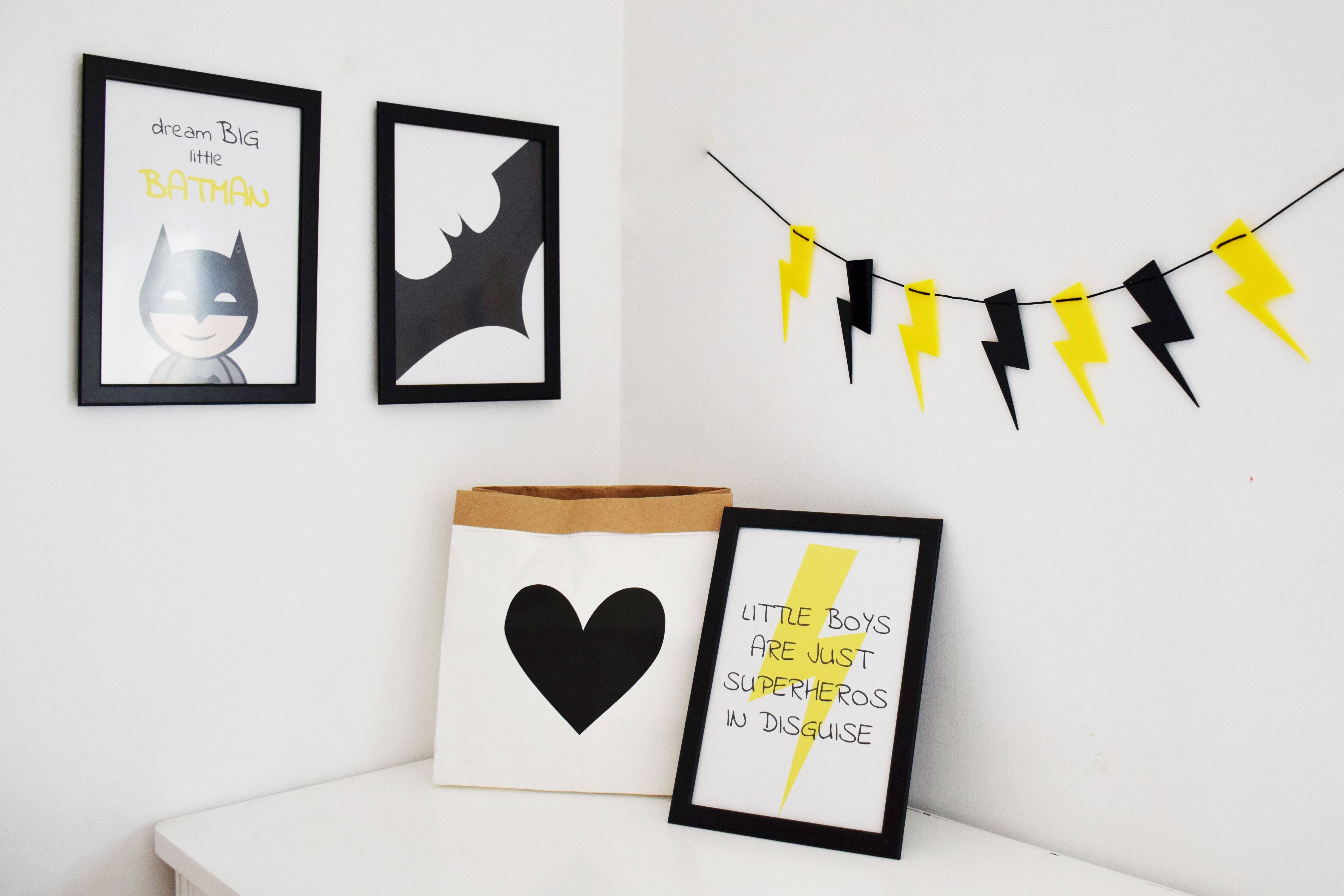 Garland Lightning Flash will make your kids room unique and special! by @kita4kids