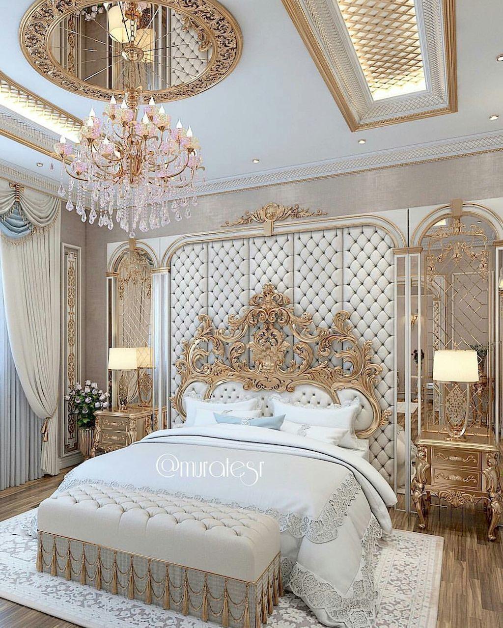 Beautiful luxury bedroom (53) | Luxury bedroom design ...