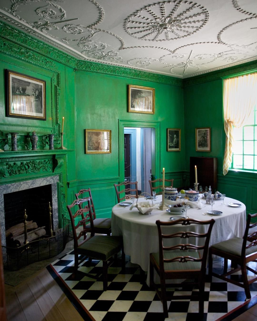 Mount Vernon Dining Room: Pin By Valorie Hart On Emerald/Kelly Green/Leaf Green