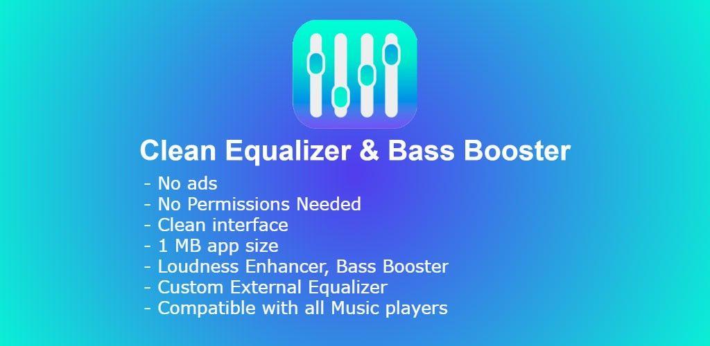 Clean Equalizer & Bass Booster Pro For headphones v0.1.0
