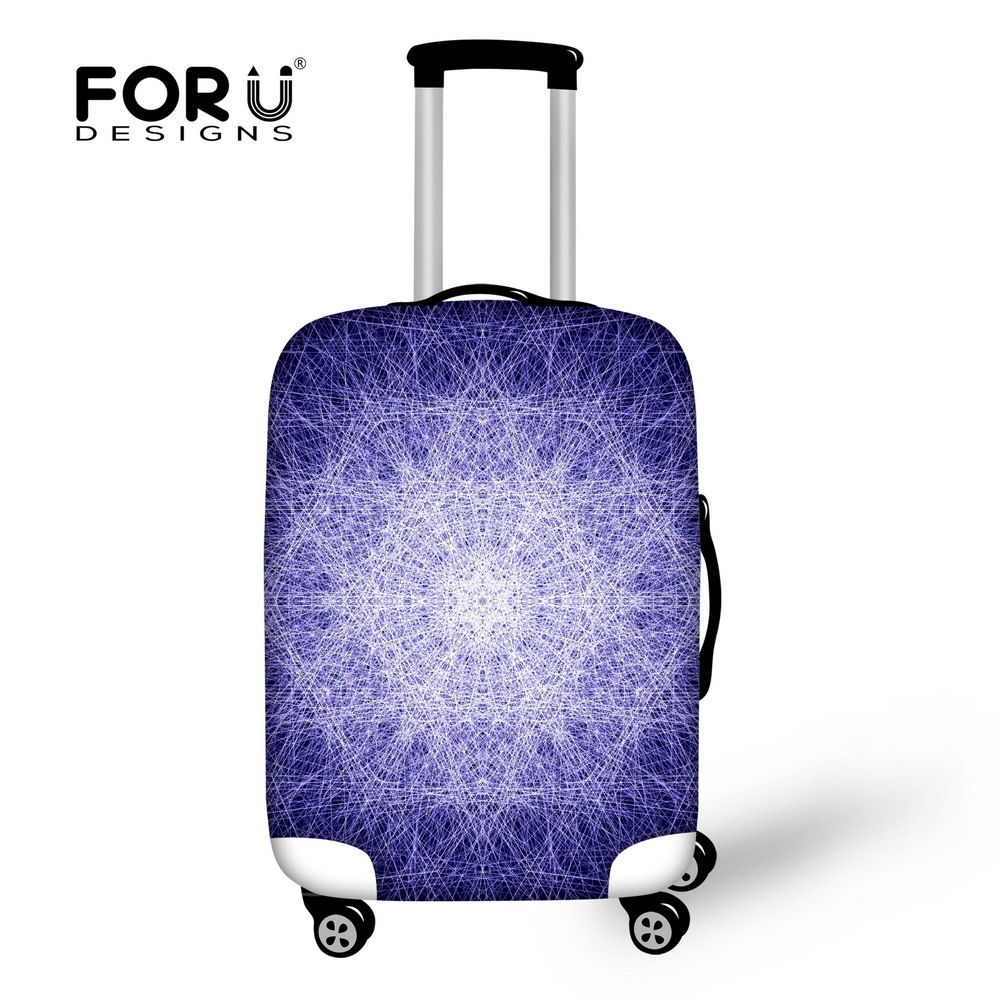 4e64bc63c FORUDESIGNS Elastic Dust Luggage Protective Covers Fashion Designs Thick Waterproof  Suitcase Cover Apply to 18-30 Inch Trunk