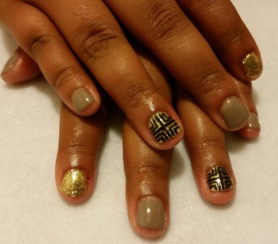 Nail Art By Kenia Gelnails Glitternails Nails Glitter Nails Gel Nails