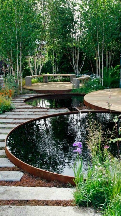Binnenkant : Ronde Vormen Tuin