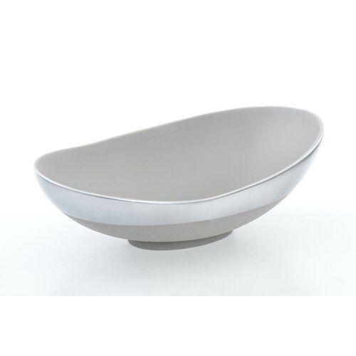 Ashburton Decorative Bowl Bloomsbury Market Colour Silver