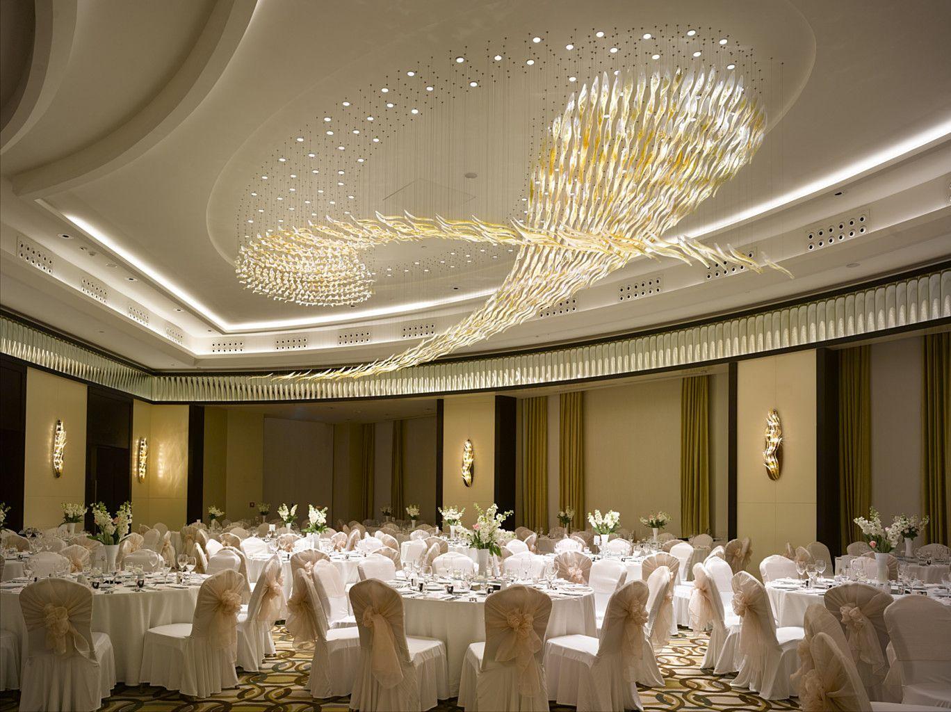 Wyndham Istanbul Petek Hotel by Lasvit | Luxury lighting design, Ceiling  light design, Ballroom design