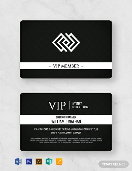 12 Free Membership Card Templates Word Doc Psd In Best Template For Membership Cards Member Card Membership Card Cards