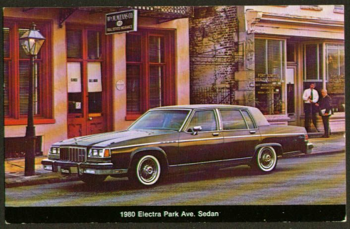 Buick Electra Park Avenue 1980 Buick Electra Buick Buick Park