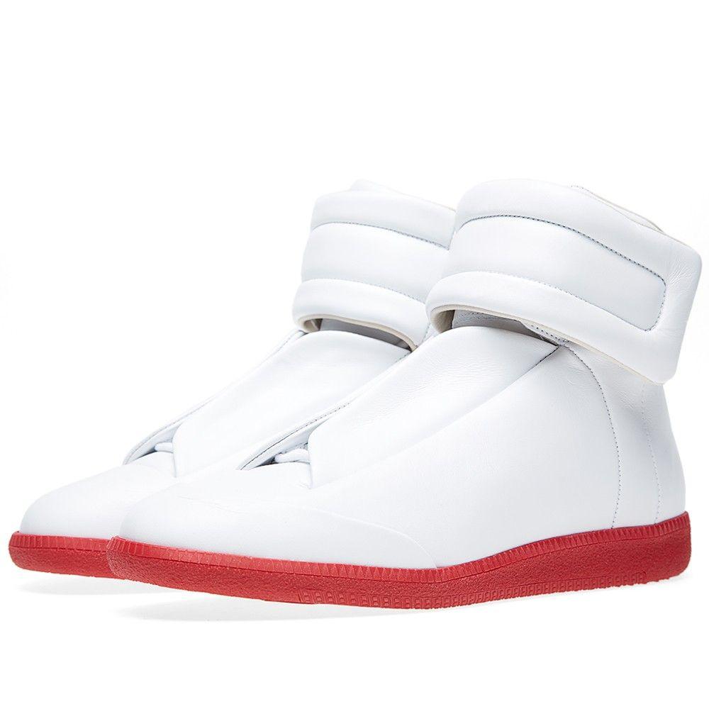 Maison Margiela 22 Red Sole Future Sneaker (White)  f0f6f14f7833