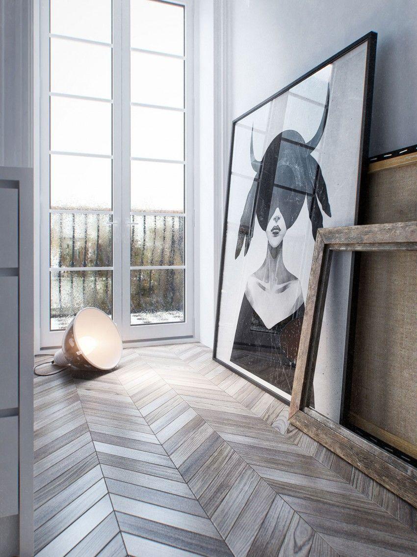 modern parquet flooring Modern House